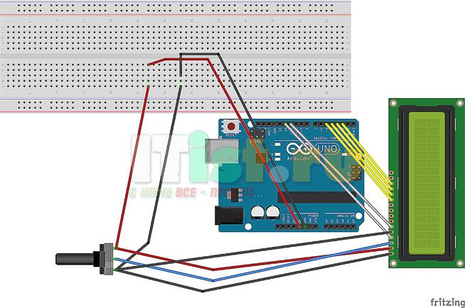 Как подключить дисплей к ардуино уно (arduino uno)