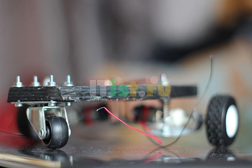 Делаем шасси для робота ардуино своими руками 8